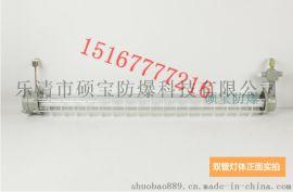 浙江2×28W钢化玻璃防爆荧光灯