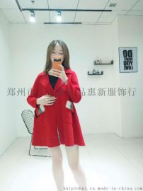 双面呢大衣女中长款羊毛呢外套零羊绒双面大衣