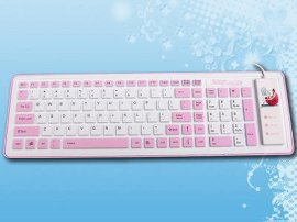 硅膠鍵盤(103鍵)