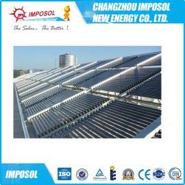 江蘇酒店浴室真空管集熱器工程,太陽能熱水供暖系統