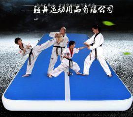 跆拳道垫子 瑜伽垫 充气拉丝底垫子 体操垫厂家供应