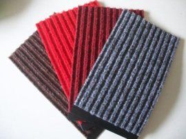 進門除塵防滑墊 雙條紋強力刮砂儲塵防滑墊(P1050)