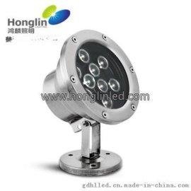 9w大功率水池灯-LED水下射灯厂家直销