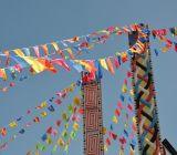 小三角旗尺寸三角旗價格便宜三角旗串旗警示旗慶典婚慶活動會場布置工地小彩旗批發