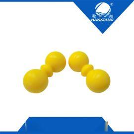 花生按摩球深层肌肉放松球 双曲棍穴位按摩连体按摩球