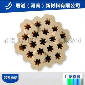 河南耐火磚廠家異形高強粘土磚 熱風爐用高鋁格子耐火磚
