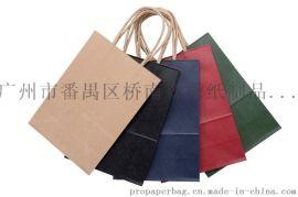 牛皮紙袋定制袋機制袋手提紙袋禮品袋加印LOGO服裝廣告宣傳