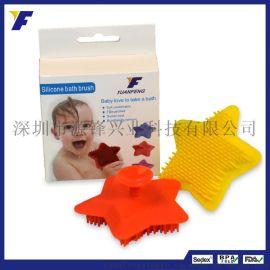 2016新款宝宝硅胶洗头刷创意婴儿搓背擦背刷成人硅胶沐浴刷洗澡刷