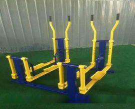 吉林户外伸腰展背架 老人健身路径器材 室外健身设施设备定制