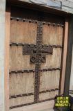 仿古木制大门,8公分厚木质仿古大门