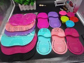 厂家现货化妆刷洗刷手套 便携款硅胶洗刷垫 化妆清洁垫 清洁工具