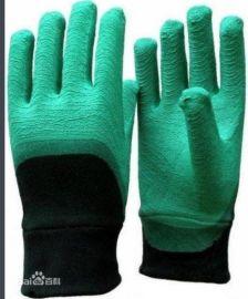 结实耐用挂胶手套