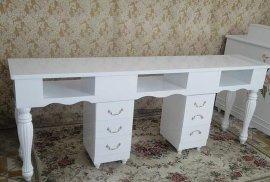定制板式创意美甲桌 多尺寸简易时尚欧式风格烤漆美甲桌