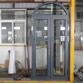 泰州市貝科利爾拱形頂鋁包木門窗定制