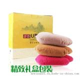 汽车U型枕 绒布 茶叶+棉