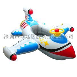 厂家现货热销PVC加厚带方向盘充气婴幼儿飞机座圈儿童坐艇游泳圈