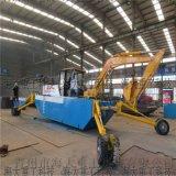 沿海灘塗清淤挖機,輪式水陸挖掘機,上海小型挖掘機