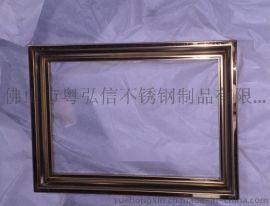 KTV装饰画不锈钢画框  酒吧不锈钢画框来图加工