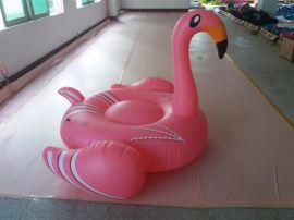 火烈鸟浮排 水上休闲娱乐玩具  接受定制