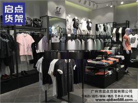 品牌服装展柜广州生产厂家,KM男装货架,童装货架,女装货架