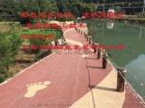 彩色混凝土壓模地坪園路鋪裝方法