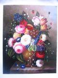 古典花卉油画
