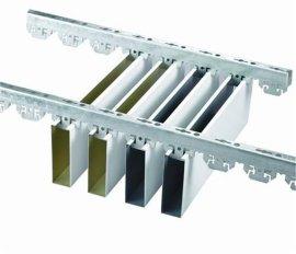 優質建材鋁天花吊頂材料鋁方通吊頂