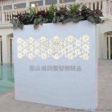 大型不锈钢花盆装饰墙  藏灯花盆墙 质量稳定  耐氧化 耐腐蚀