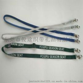 深圳客定做多種顏色的雙狗扣滌綸中空帶相機掛繩