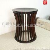 竹家具凳子竹茶登中式矮凳圓登定制竹木竹制品