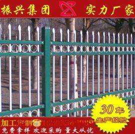 供應市政道路鋅鋼護欄草坪圍欄批發新型草坪小區圍牆鐵藝鋅鋼護欄