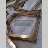 【佛山】不锈钢镜框线条 不锈钢装饰造型 颜色纯正 附着力强
