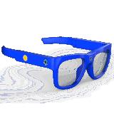 仙宝XB-G1儿童学习智能眼镜高清录像1080P