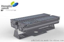 方形144W结构防水LED投光灯,采用风冷散热设计