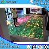P4室內LED互動地磚屏酒店商場地面板人屏互動感應智慧交互LED電子顯示廣告屏華信通
