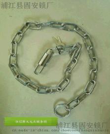 恆信牌大圓頭鏈條鎖圓鏈 門鎖 自行車鎖 可定制