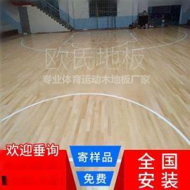 室內體育館籃球場運動實木地板