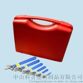KY003 280*230*82mm 杂色手提式应急用塑料工具箱  手机塑料包装盒 绘画文具箱