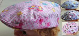 帽子 儿童帽子 纯棉贝雷款儿童帽子