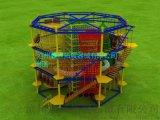 厂家供应儿童绳网探险乐园儿童拓展器械儿童攀岩