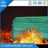 防火布玻璃纤维加厚阻燃布雨篷三防防水PVC风机出口电焊布定做