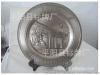 平阳标牌厂专业订做北京大学纪念盘,金属盘,锌合金盘,铜盘,工艺品