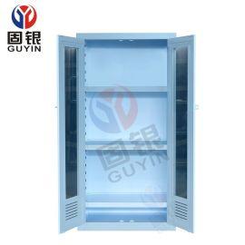 固银PP双门药品柜 器皿柜  PP试剂柜 强腐蚀液体储存柜