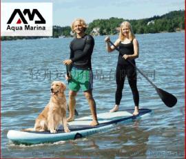 冲浪板AquaMarina/乐划 Super Trip多人款370 韩国进口料充气桨板sup冲浪板