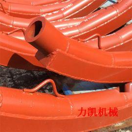 河北陶瓷耐磨彎頭廠專業生產陶瓷背包彎頭