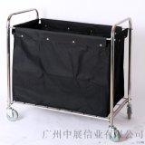 专业生产SITTY斯迪90.3213不锈钢门式布草车/服务车/布草收纳车