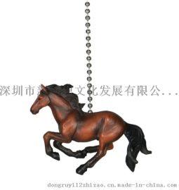 奔马创意拉绳、风扇创意拉绳、风扇配件