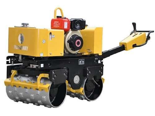 路得威沟槽压路机手扶式沟槽压路机rwyl102手扶式沟槽压实机