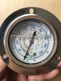 充硅油压力表,冷干机用压力表