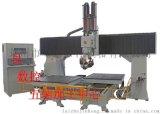 莱州精密CNC五轴加工中心五轴联动木工雕刻机、三轴 五轴 木模机 五轴木工加工中心